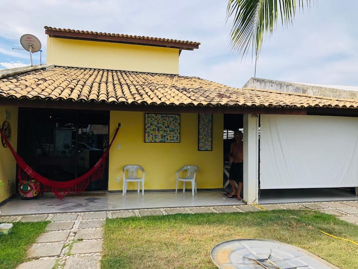 Casa Holística próximo a praia e silenciosa