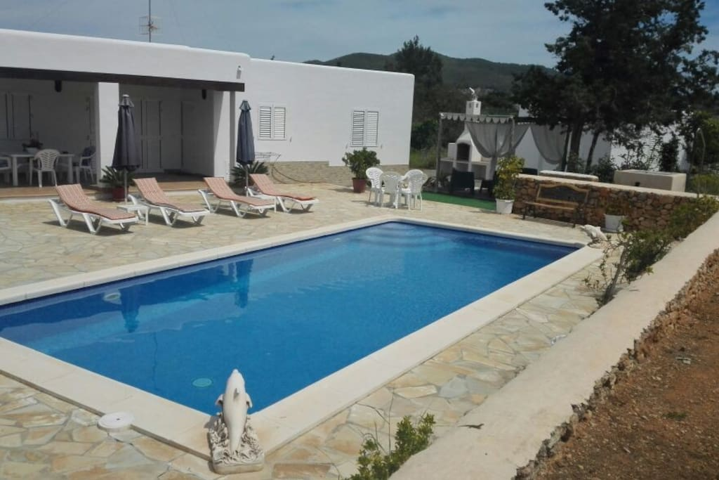 piscina y chillout