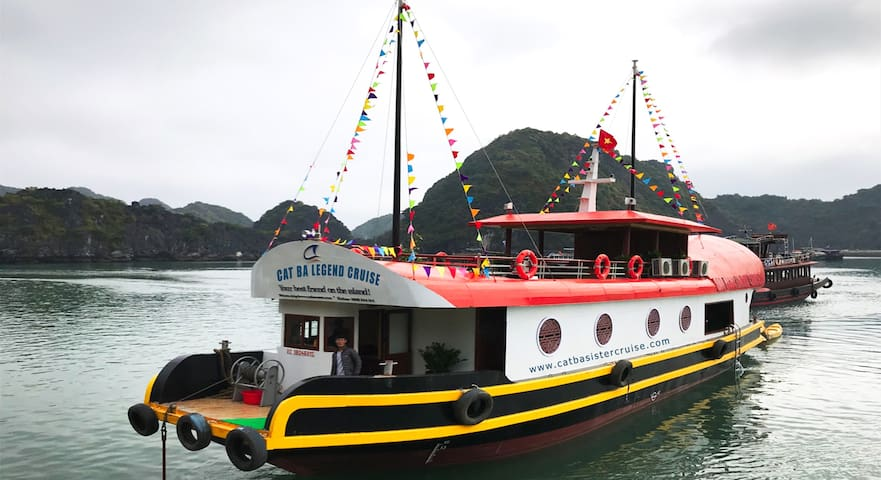 Cat Ba Sisters Legend Cruise
