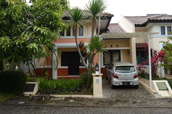 Nice quiet family house - West Bandung Regency - Maison