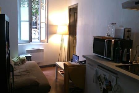 Petit appartement avec jardin - 蒙特勒伊 - 公寓