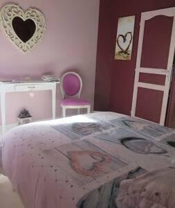Chambre tout en cœur - La Flèche - Haus