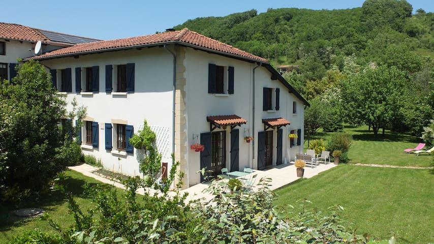 Chambre en Drôme des Collines - Lens-Lestang - Casa de huéspedes