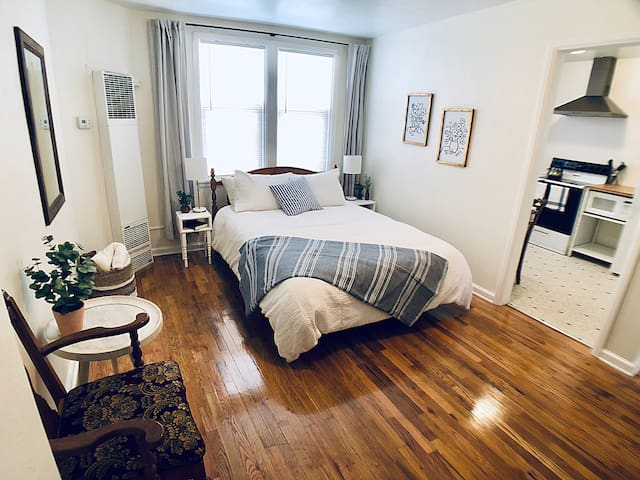 Cute Downtown Studio Apartment, Walkable! (Apt 2)