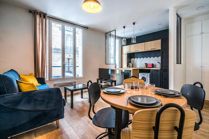Cosy apartment-4P- Terasse - Les Lilas