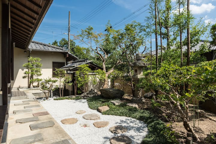 traditional house 1 min walk to yamashina canal - 京都市 - Villa