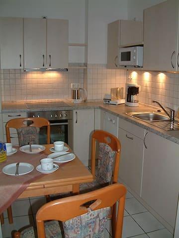 Appartementanlage Marianne (Merkendorf), Ferienwohnung 6 mit Balkon