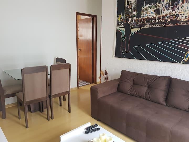 Otimo apartamento no bairro São Matheus c/ garagem