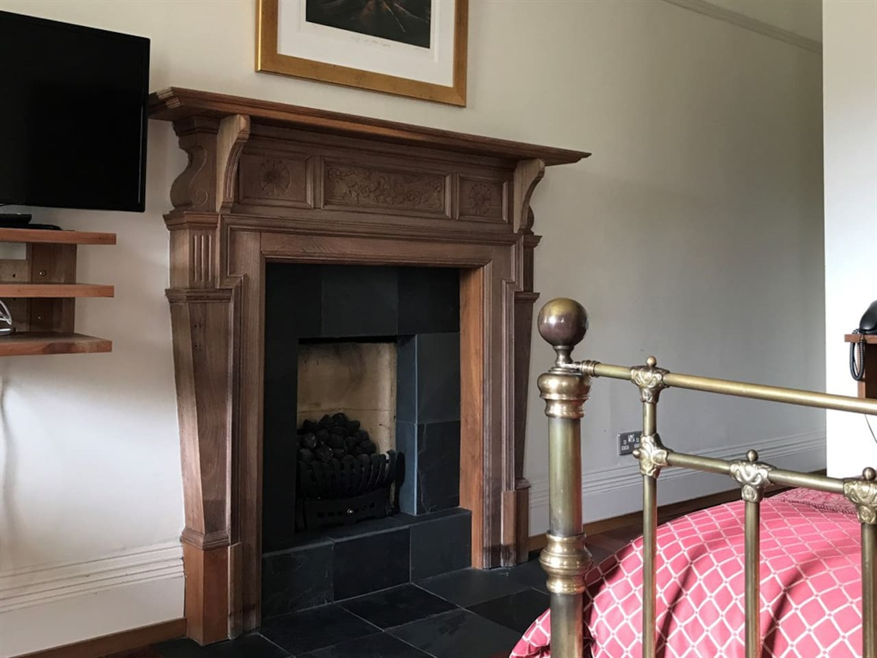 Premier room fireplace