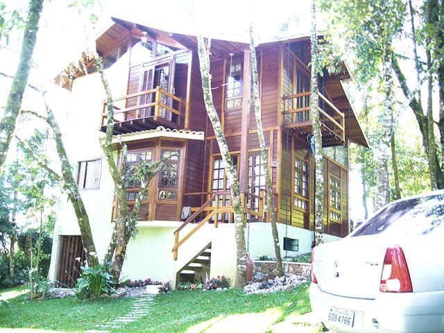 Casa mista charmosa 3 dormit. (400 m do centro) - Monte Verde