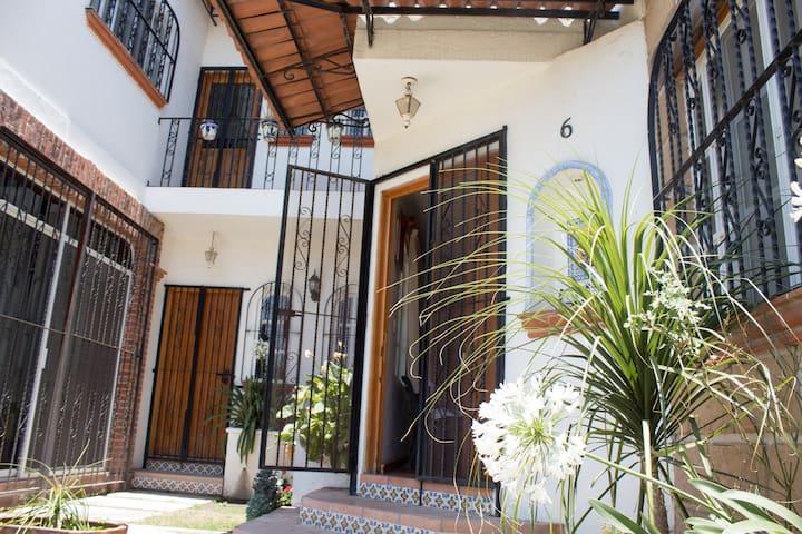 Casa en Tequisquiapan para familia y amigos.