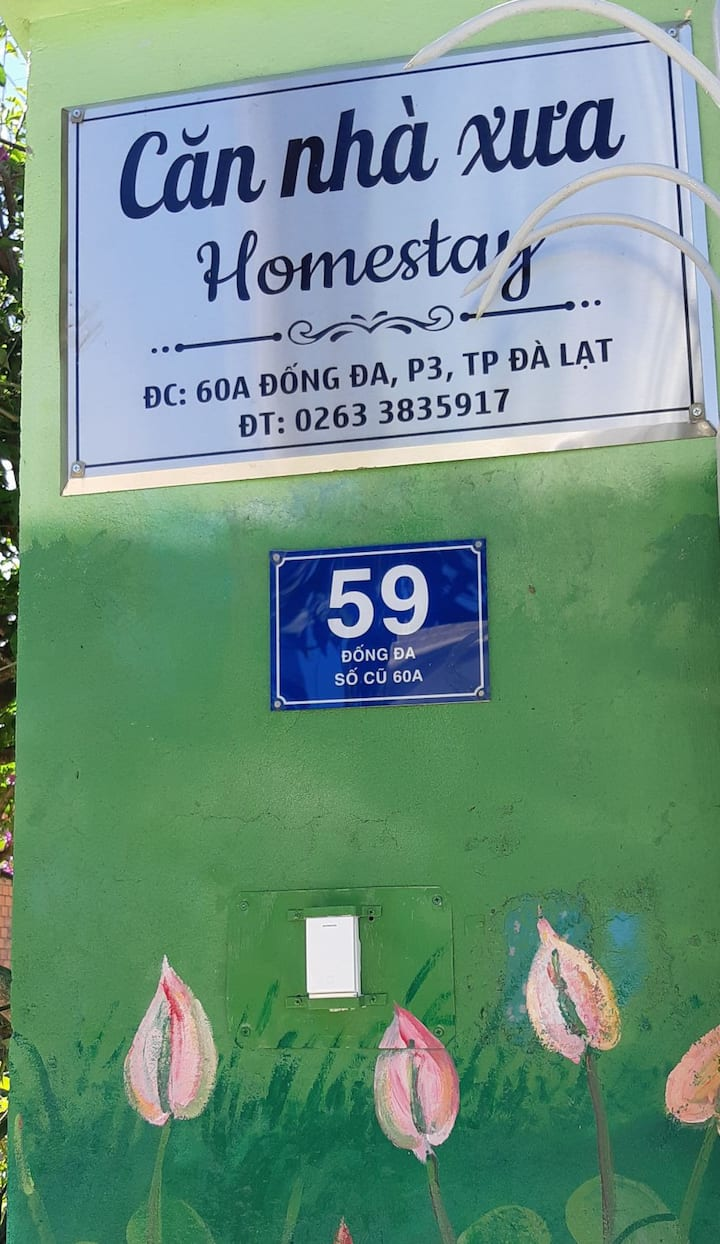 Căn nhà xưa Homestay_Friendly house_Room 101/102