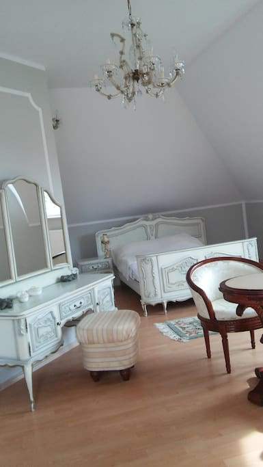 Triple room in French styl