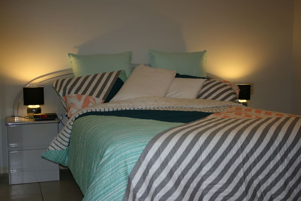 After a hard day's travelling or shopping or riding the rollercoasters our beds a about giving you a great nights rest.