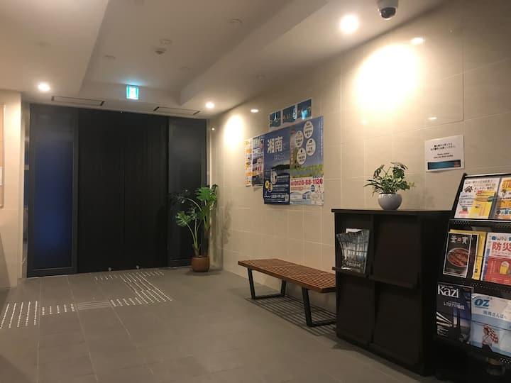鎌倉・江ノ島観光に便利なキッチン付きのアパートメントホテルです。【1ROOM-6】