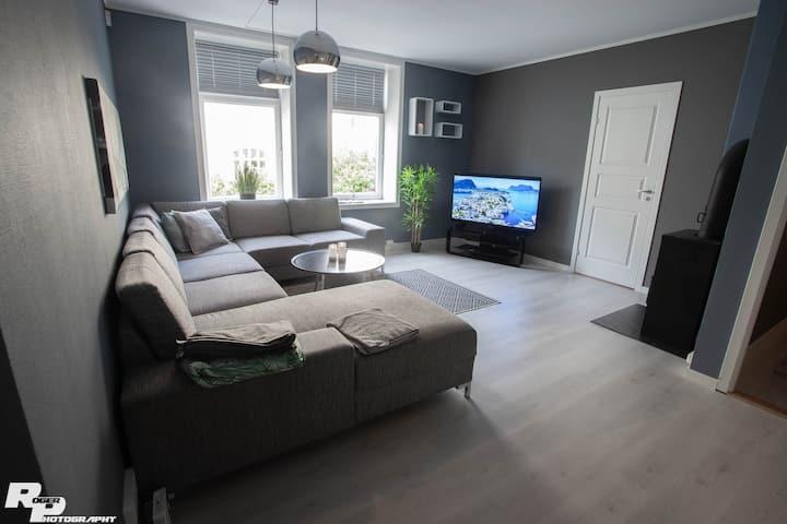 Modern apartment with 3 bedrooms Aalesund Sentrum