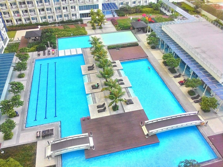 1BR Fully Furnished with Amazing view at Jazz Res.