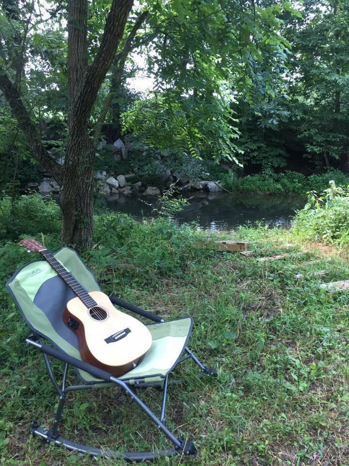 Primitive Camp Site. 45 min west of Nashville