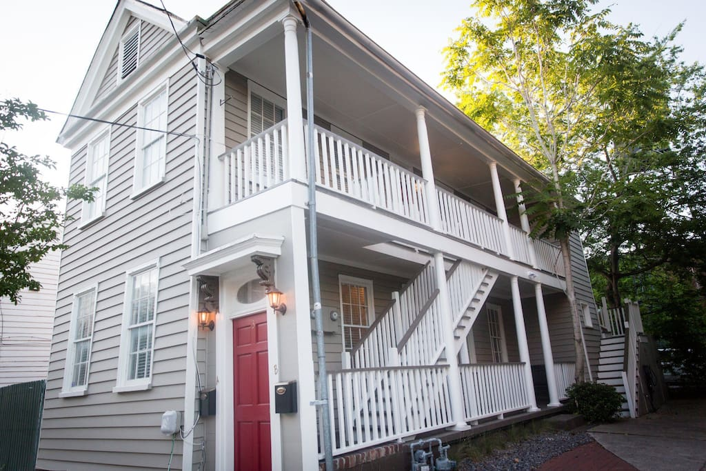 Classic Charleston Duplex - built in 1850 and recently renovated inside and out - located in the perfect location for your adventure in Charleston.
