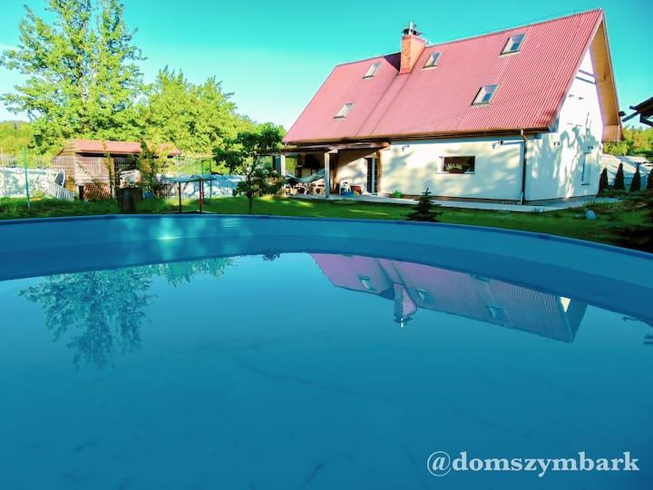 Dom całoroczny w Szymbarku/Szymbark yearly house