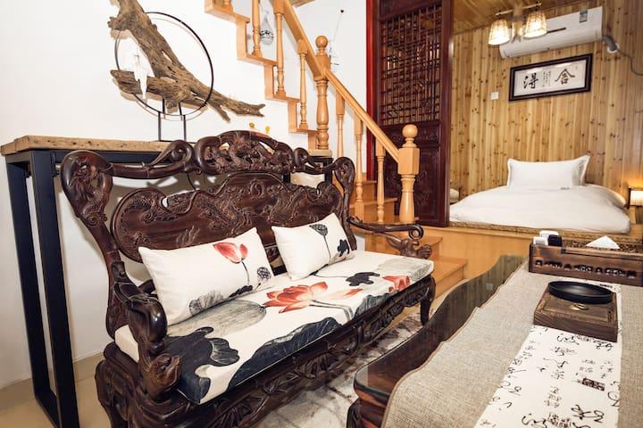【舍·得】西湖韵味禅意带天井带露台历史院落小筑 - 杭州 - House