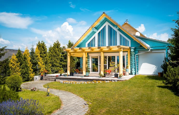 3BR+2Bath Sunny and Spacious House at Rajec-Valley