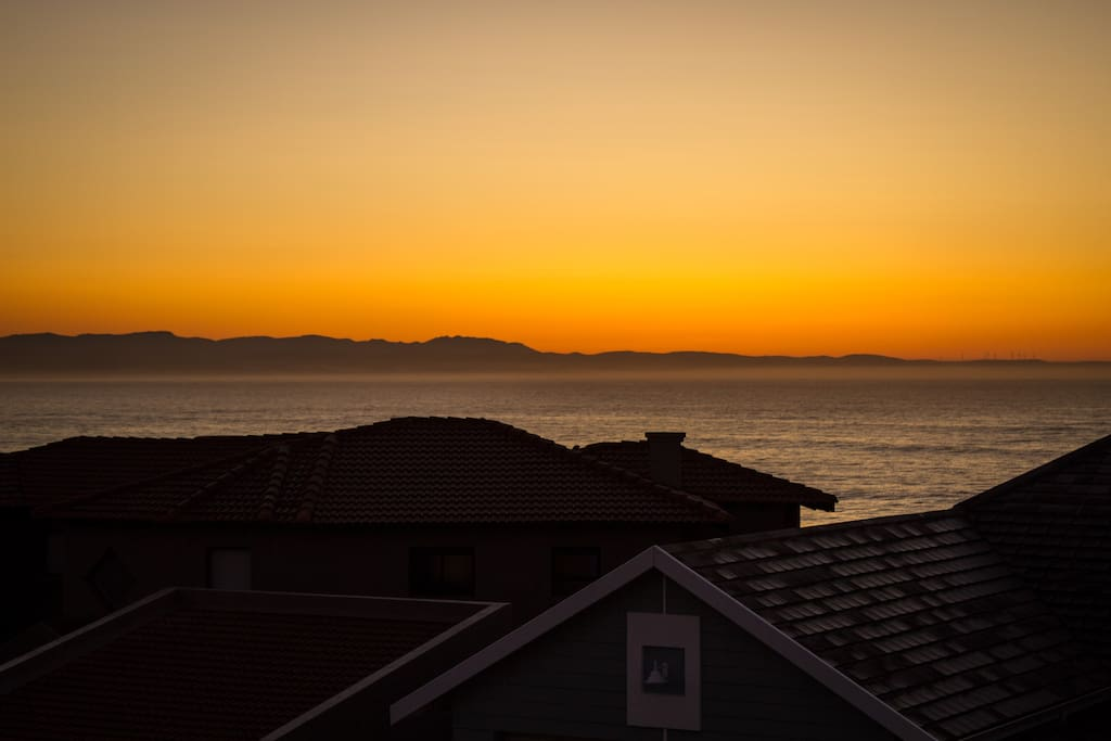 Balcony Sunrise View