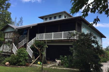 Blue room at Gratitude house. - West Palm Beach - Haus