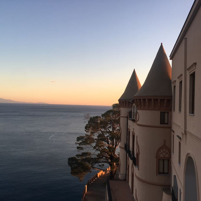 The magic view from the terrace