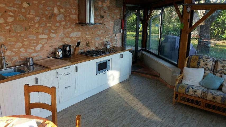 Dining Kitchen / TV room