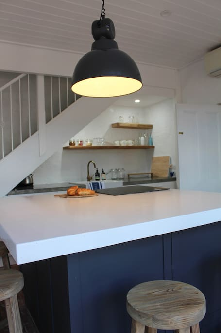 Fully equipped on trend kitchen