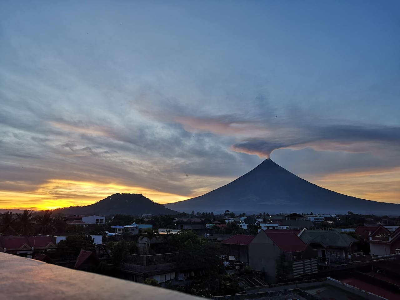 Mayon Volcano View Deck