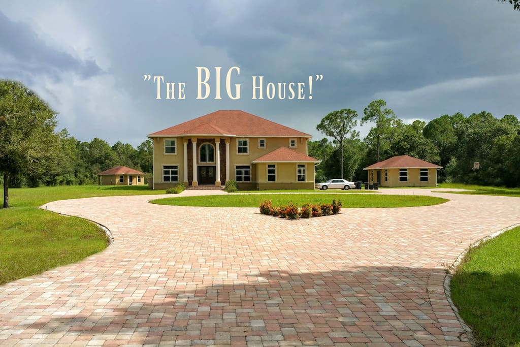 The big house with everything houses for rent in for Big houses in florida