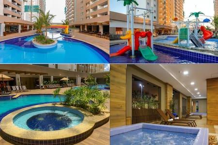 Olímpia Park Resort- Apt. em frente ao Thermas