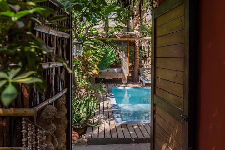 La Maison Exótica casa a pocos pasos del SURFPOINT