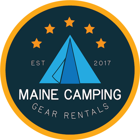 Maine Camping Gear Rental Acadia National Park Kit