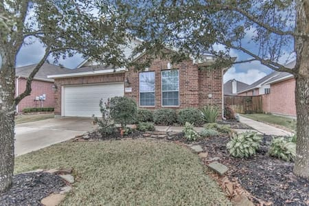 Cypress, TX Gated Community 3BR/2BA SUPERBOWL!! - Cypress - Rumah