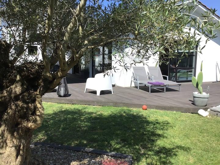 Belle maison proche Bordeaux pouvant accueillir 8 personnes