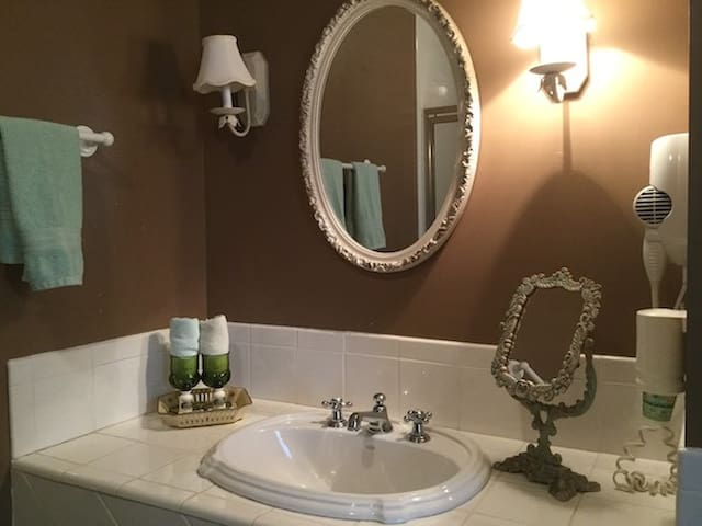 All guest rooms have a private en suite bathroom