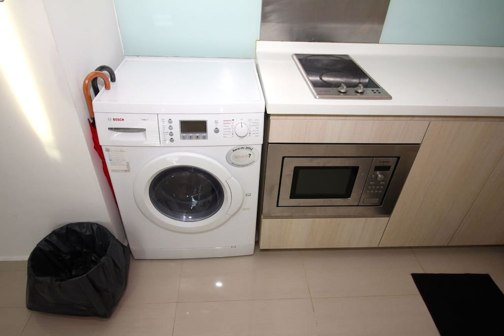 2 In 1 washer dryer machine