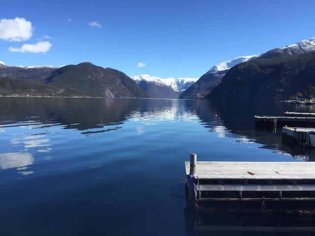 House, Fjord views & private marina