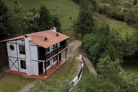 Relax, fire place and nature close to Quito