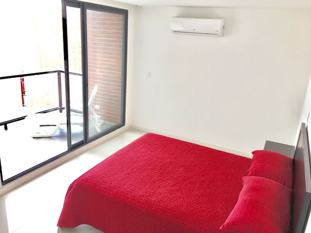 Exclusive  apartment in front of the Beach - Manta - Apartment