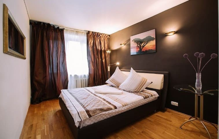 Bedroom 1 with big double bed