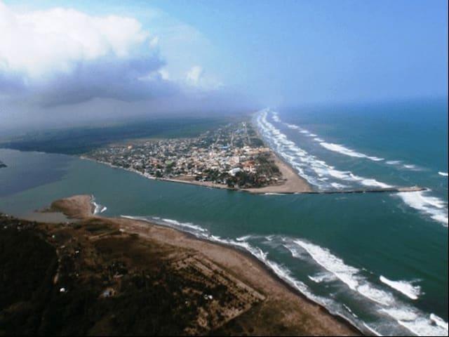 Ven a disfrutar de la playa de Tecolutla
