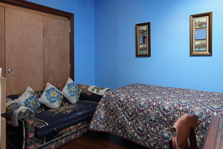 Skylight ceiling bedroom