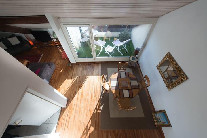 Paradis dernier étage proche ville et nature - Plan-les-Ouates - Apartment