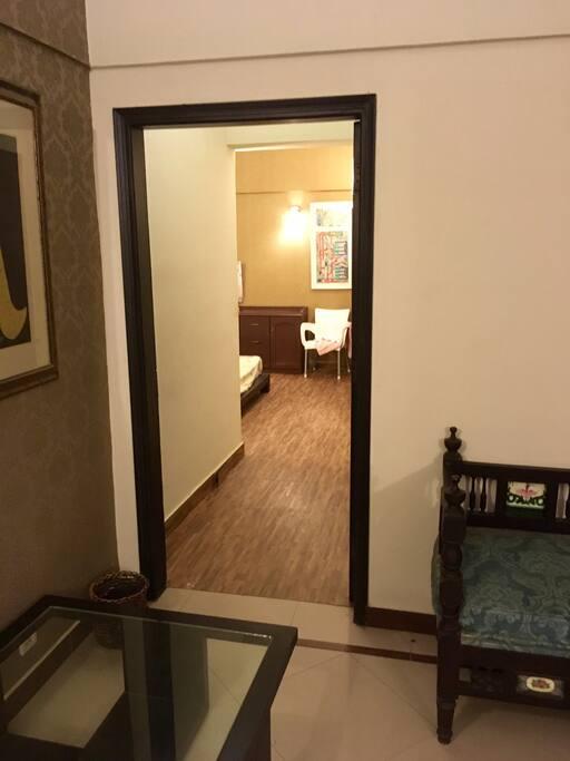Room 1 (entrance)