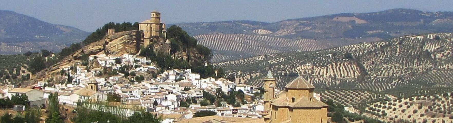 Casa Castillo - Montefrío - fantastic views - pool