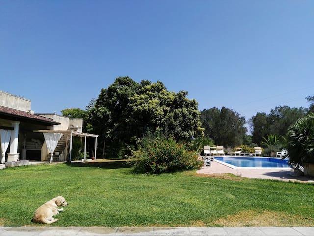 Villa signorile con giardino e piscina